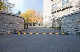4 Benefits to Having Speed Bumps Installed in a Parking Lot